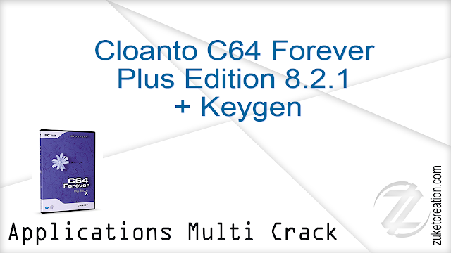 Cloanto C64 Forever Plus Edition 8.2.1 + Keygen