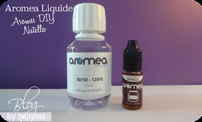 DIY réalisation de e-liquides Aromea