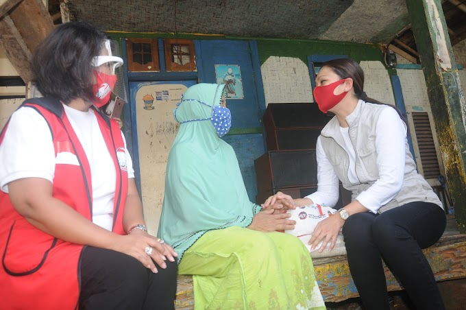 Pertiwi Indonesia Salurkan Bantuan Sosial Presiden Di Parung , Bogor