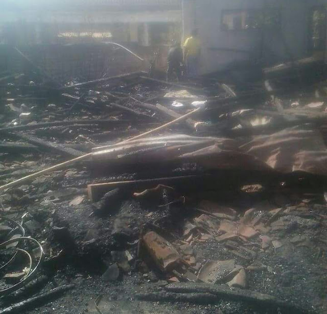 Puing-puing kebakaran rumah kader Tapak Suci Bondowoso, Agus Sayfudin, K.Ua