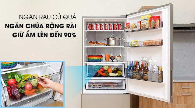 Tủ lạnh Panasonic Inverter 405 lít NR-BX468XSVN