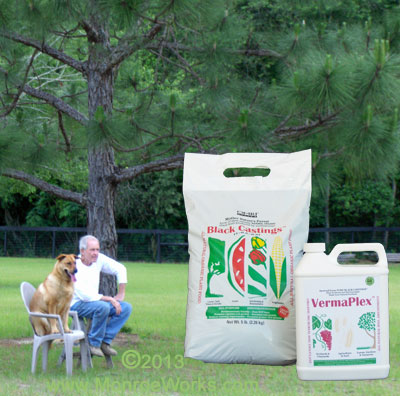 Organic Worm Castings Fertilizer