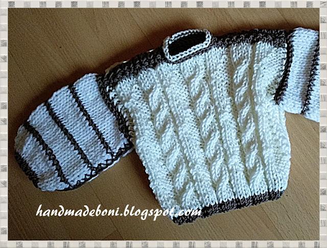 Sweterek dla maluszka – 6 miesięcy. Zrób razem ze mną :-)