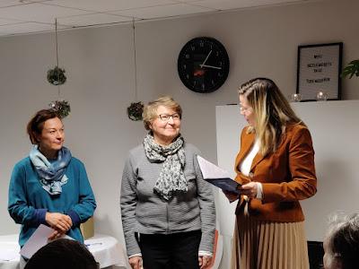 Elina Varjonen, Marianne Heikkilä , Lea Grönlundin