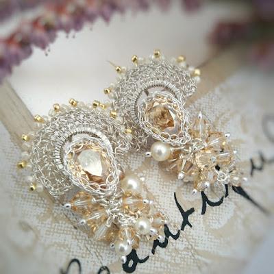 Kolczyki ślubne Adalica