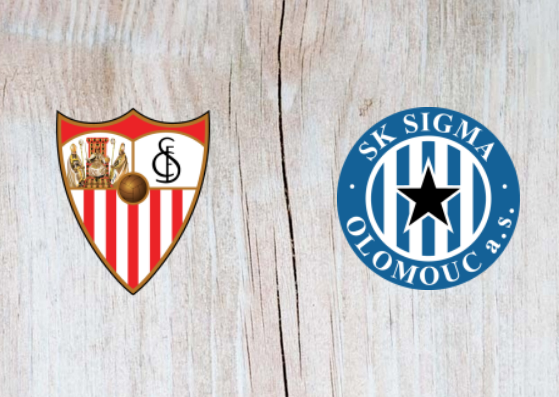 Sevilla vs Sigma Olomouc Full Match  Highlights - 30 August 2018