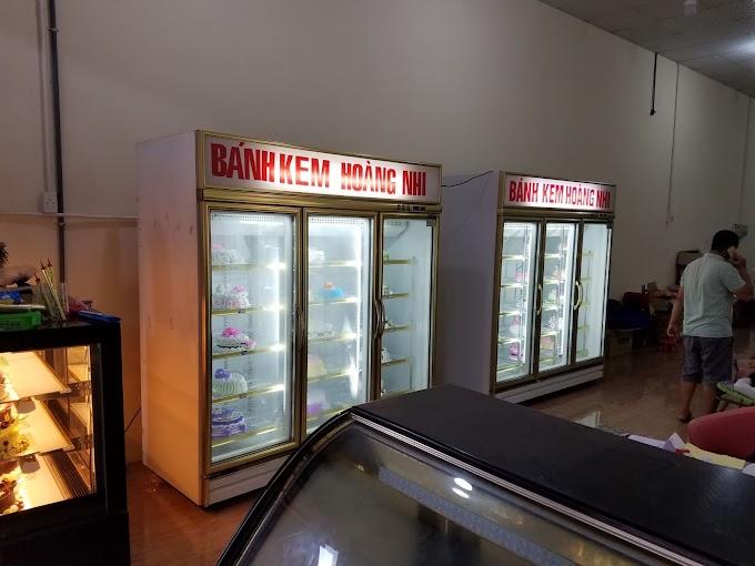Sửa chửa tủ mát 3 cánh Đài Loan bánh kem tại Huế