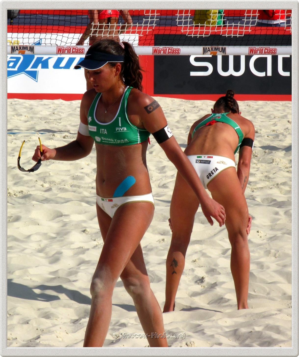 Italian Beach Volleyball Women's Team
