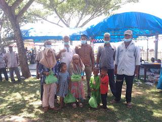 Syukuran Kenduri Laot Ratusan Anak Yatim Dari 24 Desa Di Kecamatan Idi Rayeuk Disantuni