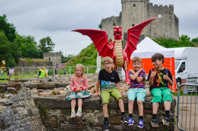 South Wales with Kids, exploring Wales, Cardiff castle