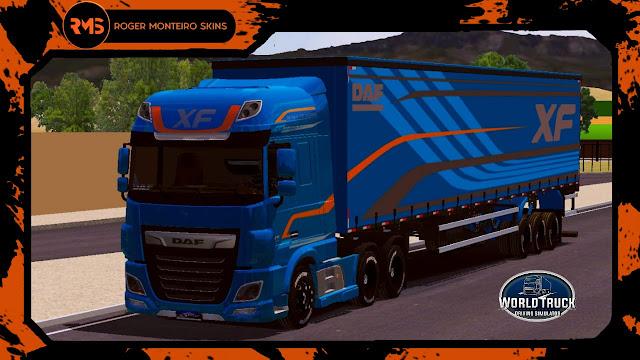 Skins, Skins Daf XF, Skins World Truck, Wtds, Skins Wtds