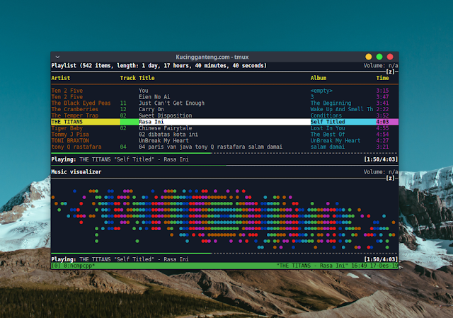 Cara Install dan Konfigurasi Mpd dan Ncmpcpp di Ubuntu dan Linuxmint