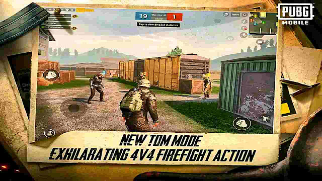 PUBG MOBILE UPDATE 0.13.0 ARRIVING WITH TEAM DEATHMATCH / PUBG Mobile Update IMAGE