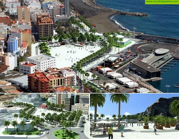 Presentado en el Cabildo el borrador del Plan Director de Infraestructuras del puerto palmero