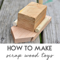 how to make scrap wood toy