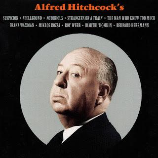 Front - Alfred Hitchcock's Five Movie Original Scores