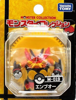 Emboar figure Takara Tomy Monster Collection M series