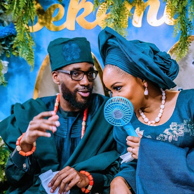 Pictures From VP Osinbajo Son's, Laolu Traditional Wedding (Photos)