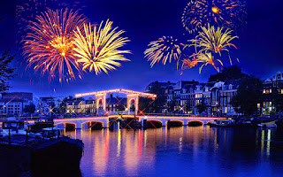 Happy New Year Background HD Wallpaper