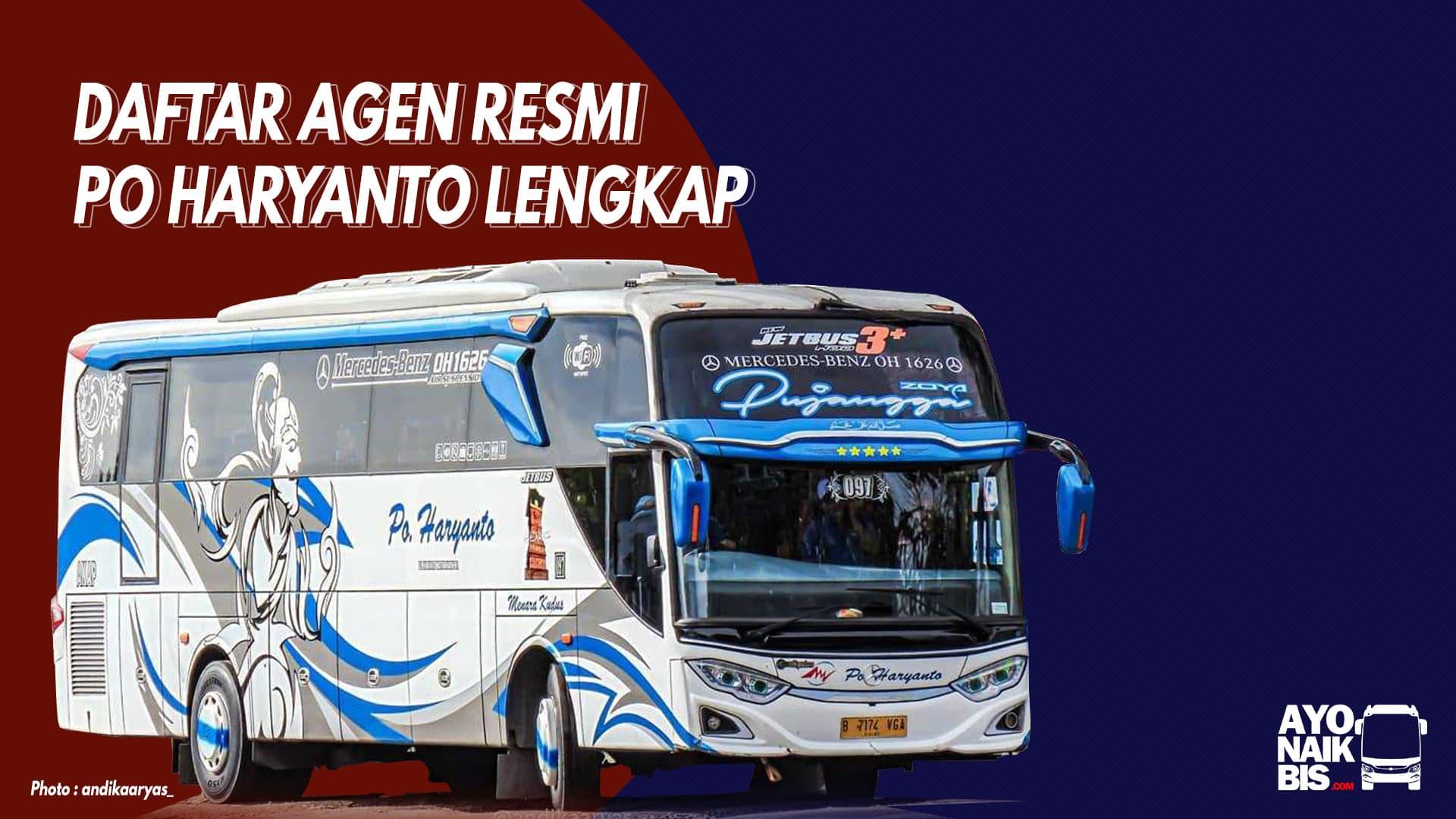 Agen bus Haryanto