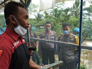 Polisi labuhanbatu ajak masyarakat meningkatkan ketahanan pangan ditengah wabah covid-19 dengan ternak lalat