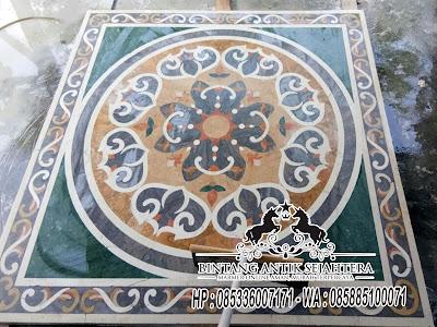 Border Inlay Marmer,  Lantai  Motif Marmer Terbaru, Lantai Motif Marmer Tulungagung
