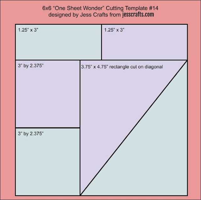 One Sheet Wonder Template #14 by Jess Crafts