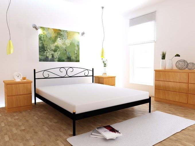 Кровать металлическая Марго 120х200  ТМ MegaOpt