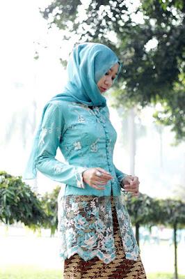 hijab untuk kebaya tradisional