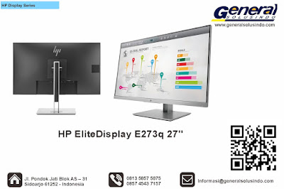 HP EliteDisplay E273q 27