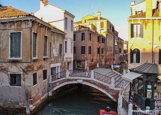 Dorsoduro, a porção mais seca de Veneza