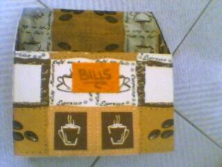 DIY κουτί λογαριασμών...