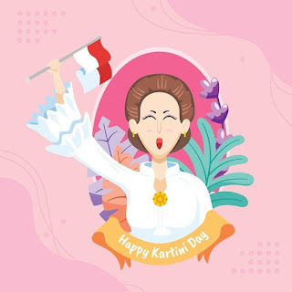 Gambar kartun Ra Kartini