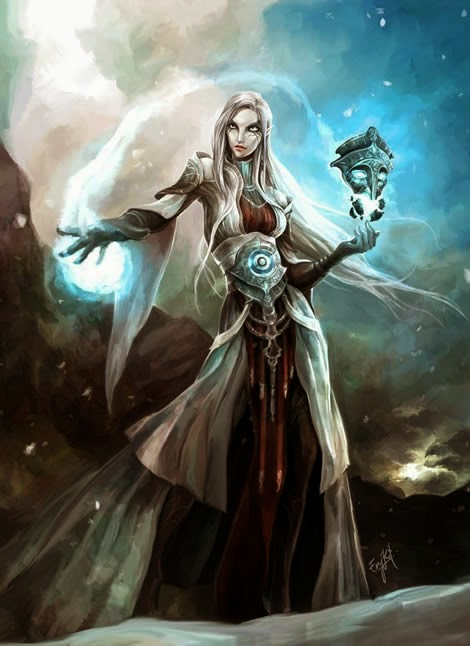 High Watermark - Female wizard