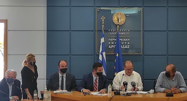 """Ποια έργα στην Αργολίδα αφορά το μνημόνιο συνεργασίας της Περιφέρειας Πελοποννήσου και του """"Πάρνωνας Α.Ε."""""""
