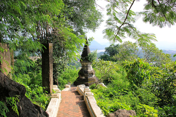 Mont Phou Si (Luang Prabang, Laos)