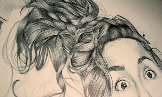 Ilustración, Fish face de Jaime Albañil