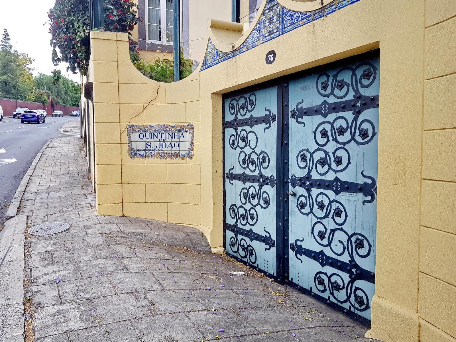 a porta da quinta
