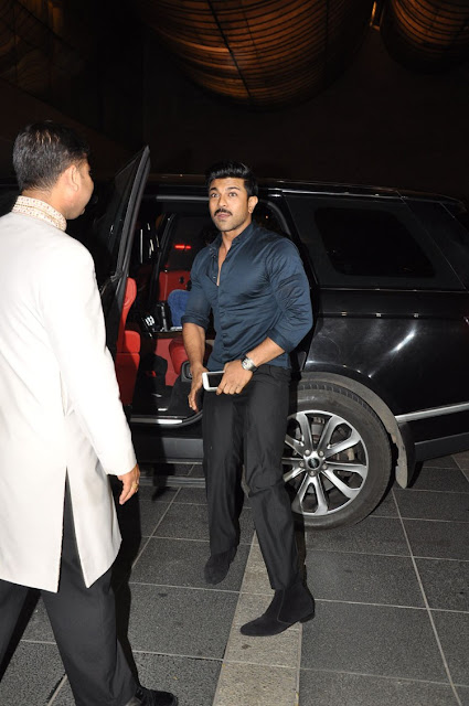 Ram Charan at Megastar Chiranjeevi Birthday Party