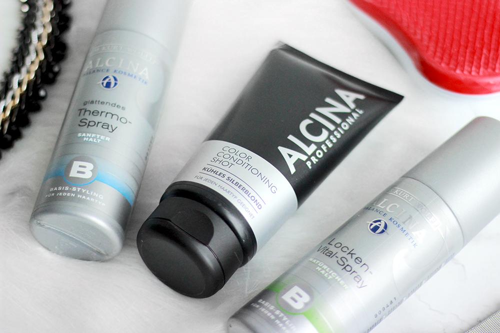 Alcina | Termo sprej, Sprej Pro Přírodně Vlnité Vlasy & Kondicionér Pro Platinovou Blond