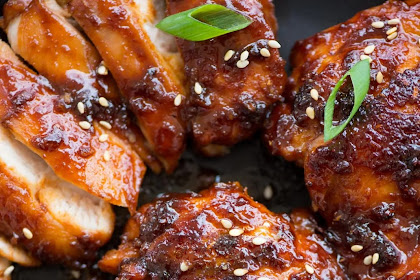 Sticky Korean Chicken