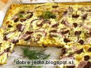 Lavaš bryndzovník - recept