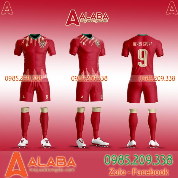Áo Bồ Đào Nha đỏ mới nhất