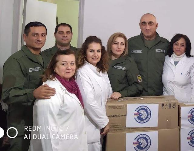 Armenia entrega suministros médicos a Siria
