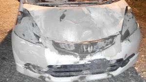 Mobil Ketua Investigasi Wilter GMBI Aceh Tabrak Kerbau Di Nagan Raya