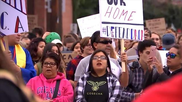 Dreamers en EEUU intensifican la lucha por una legalización