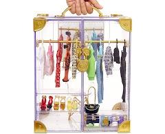 Шкаф с одеждой и обувью Rainbow High Deluxe Fashion Closet
