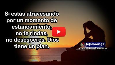 Momentos de estancamiento✅Si estás atravesando por un momento de estancamiento, no te rindas, no desesperes. Dios tiene un plan. En la vida existen momentos en los que parece que la vida se detiene.