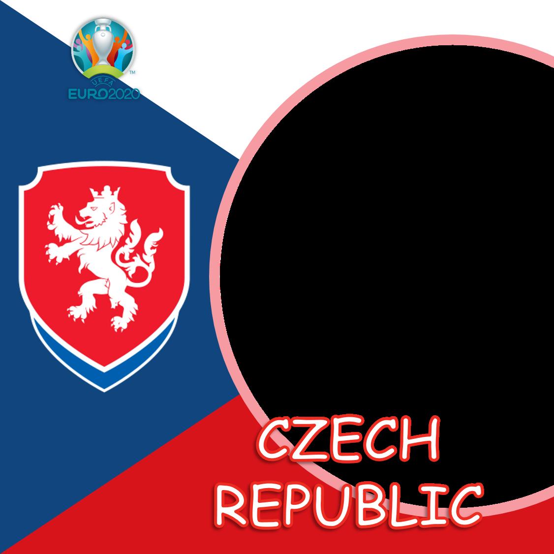 Background Bingkai Foto Twibbon Republik Ceko Euro 2020 - Czech Republic Euro 2021