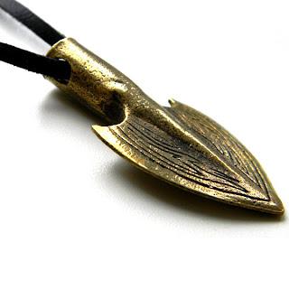 купить кулон наконечник стрелы бронзовые украшения россия ру